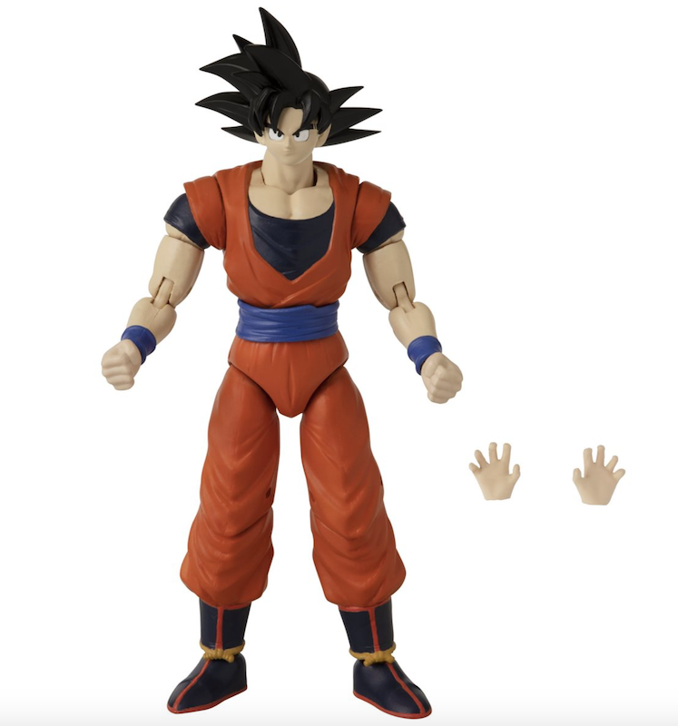 Bandai America Dragon Ball Stars Series 17 Goku, Gotenks & Vegeta Figure Pre-Orders