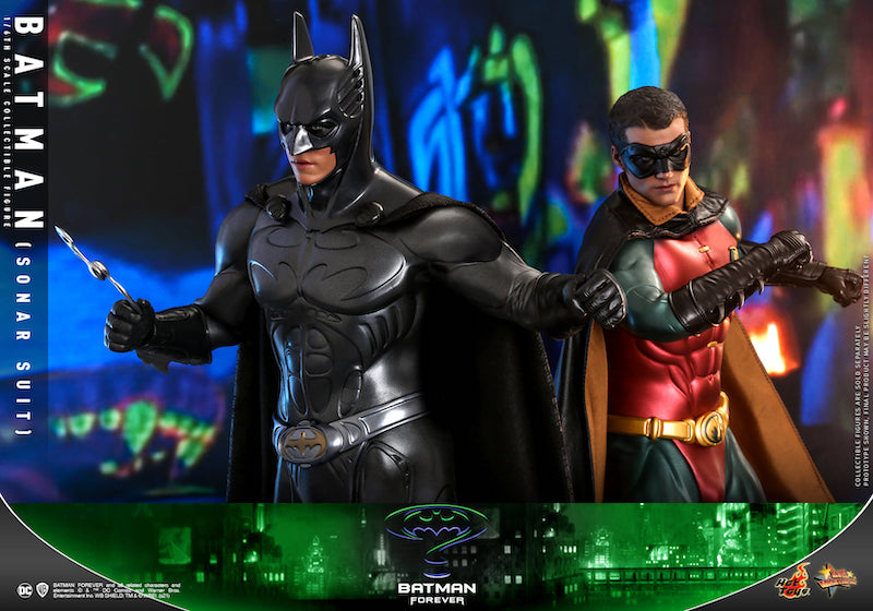 Hot Toys Batman Forever – Batman & Robin Sixth Scale Figure Pre-Orders