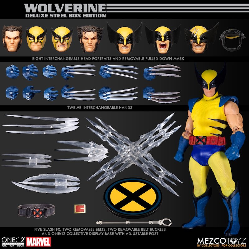 Mezco Toyz Marvel Comics – Wolverine One:12 Collective Deluxe Steel Box Edition Pre-Orders