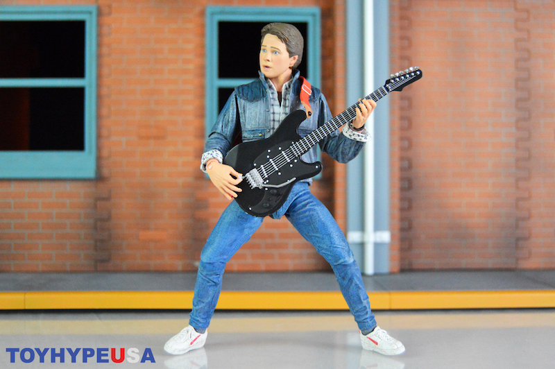 NECA Toys Back To The Future – Ultimate Marty McFly Audition Version Figure Review