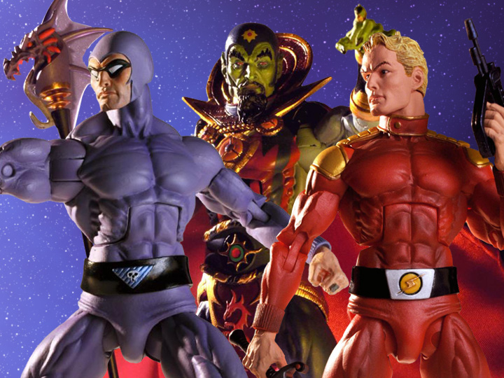 NECA Toys Defenders Of The Earth Wave 1 Figures Pre-Orders