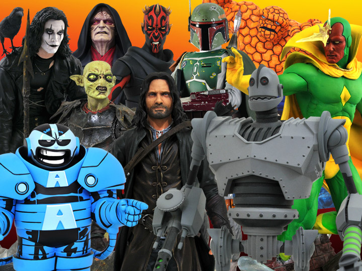 Diamond Select Toys/Gentle Giant Solicitations For August 2021 – Marvel, Lord of the Rings, Star Wars, Iron Giant & More