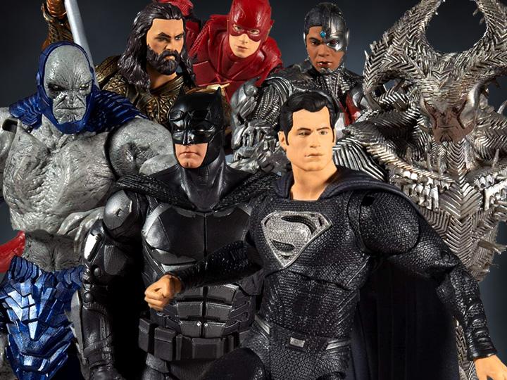 McFarlane Toys DC Multiverse Zach Snyder Justice League Figure Pre-Orders