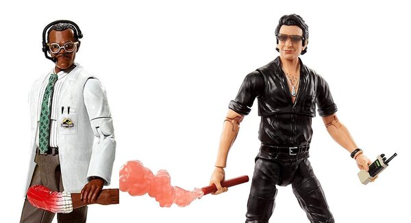 Mattel – Jurassic Park Amber Collection & Dr. Ian Malcolm (Ver.2), Ray Arnold Figure Pre-Orders