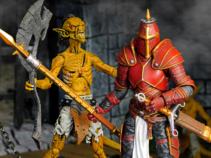 Boss Fight Studio – Vitruvian H.A.C.K.S. Red Knight and Hobgoblin Exclusive Figures Pre-Orders