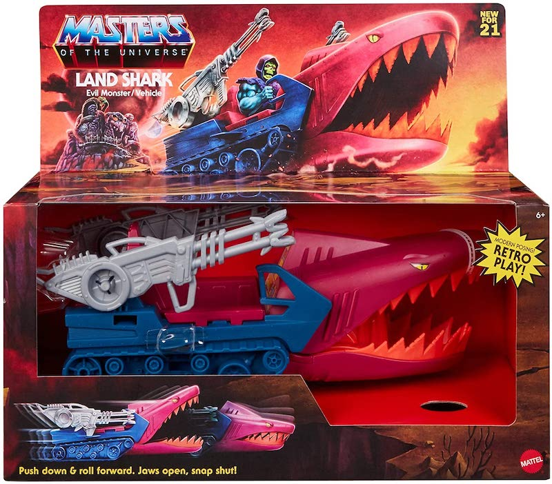 Mattel – Masters Of The Universe Origins Land Shark Vehicle Pre-Orders On Amazon