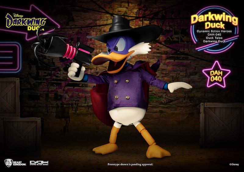 Beast Kingdom – Darkwing Duck Dynamic 8ction Heroes DAH Figure Pre-Orders