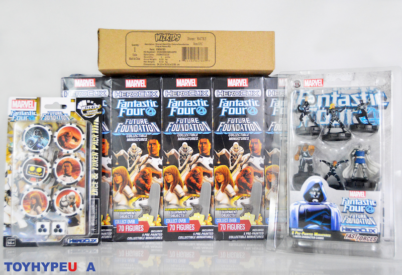 Wizkids – Marvel Heroclix Fantastic Four Future Foundation Booster Brick Video Unboxing & Review