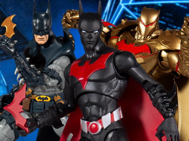 McFarlane Toys DC Multiverse Batman Beyond, Batman Hellbat Suit, & Batman Figure Pre-Orders