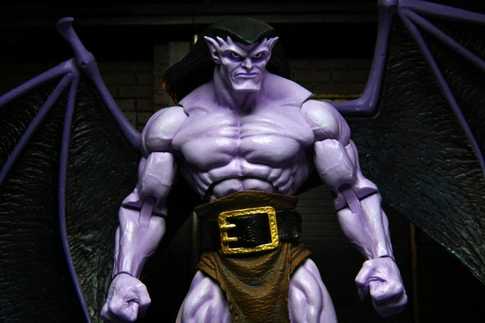 NECA Toys Disney's Gargoyles 7″ Scale Goliath Figure & Pre-Orders Are Live