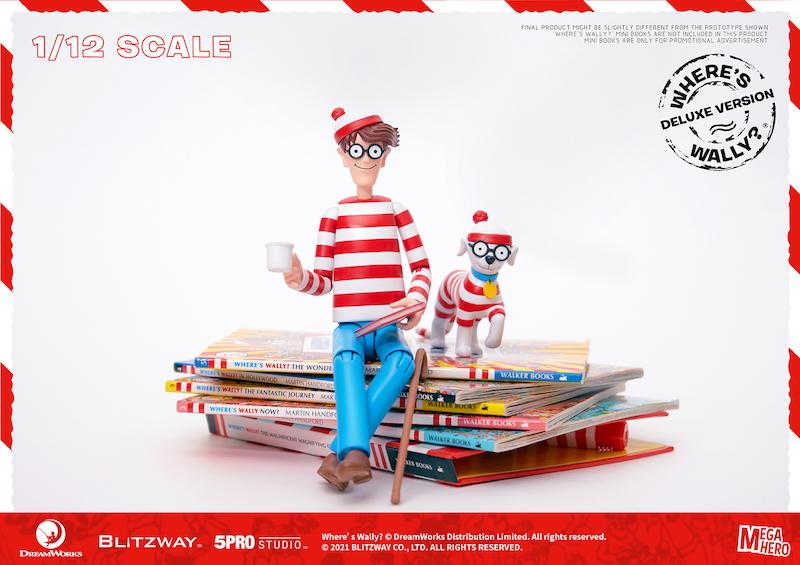 Blitzway – Where's Waldo 1/6th & 1/12th Scale Figures Pre-Orders