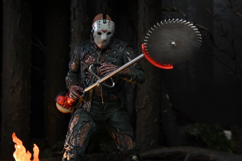NECA Toys Friday The 13th Part VII: The New Blood – Jason Voorhees Ultimate Figure – New Images