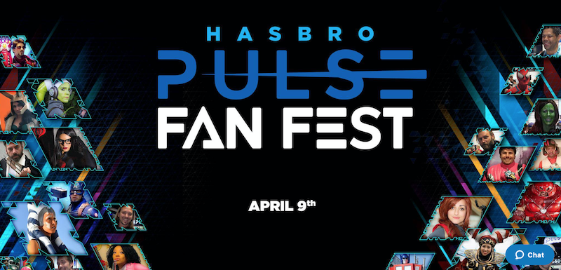 Hasbro Pulse Fan First Coming April 9, 2021
