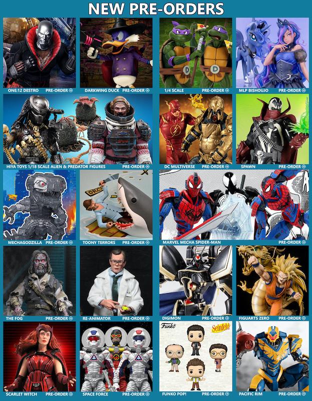 BigBadToyStore News – G.I. Joe, TMNT, DC Multiverse, Spawn, Predator, Alien, Darkwing Duck, MLP, Plunderlings, Marvel, Jaws, Horror, Anime & More