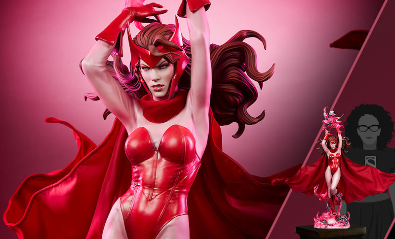 Sideshow Collectibles Scarlet Witch Premium Format Figure Pre-Orders