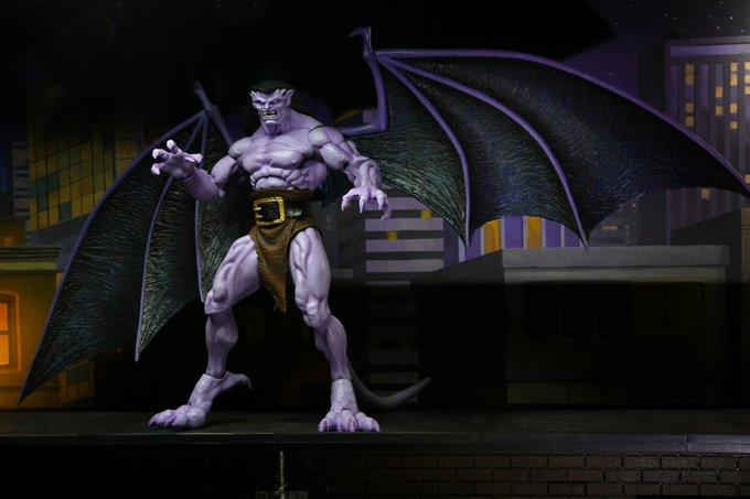 NECA Toys Shipping This Week – Gargoyles Goliath Figure