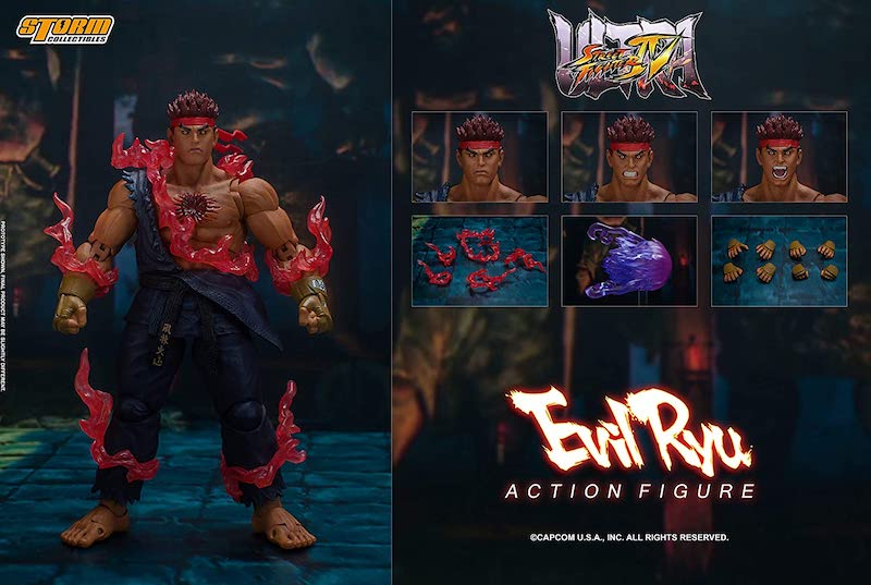 Storm Collectibles Street Fighter IV – Evil Ryu Figure Pre-Orders