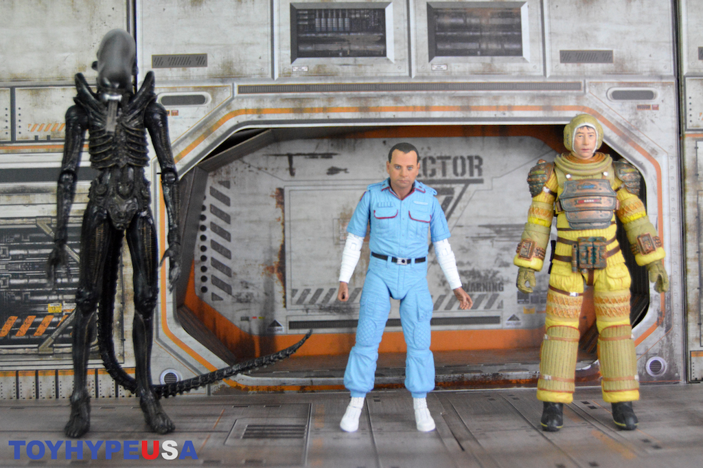 NECA Toys Alien 40th Anniversary Series 3 Figures Review