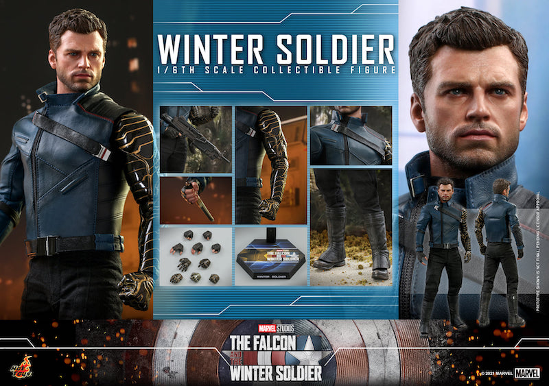 Hot Toys The Falcon and The Winter Soldier – Winter Soldier Sixth Scale Figure Pre-Orders