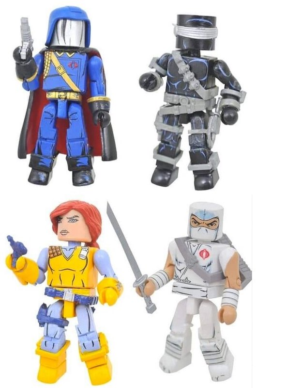 Diamond Select Toys G.I. Joe Minimates Coming On FCBD