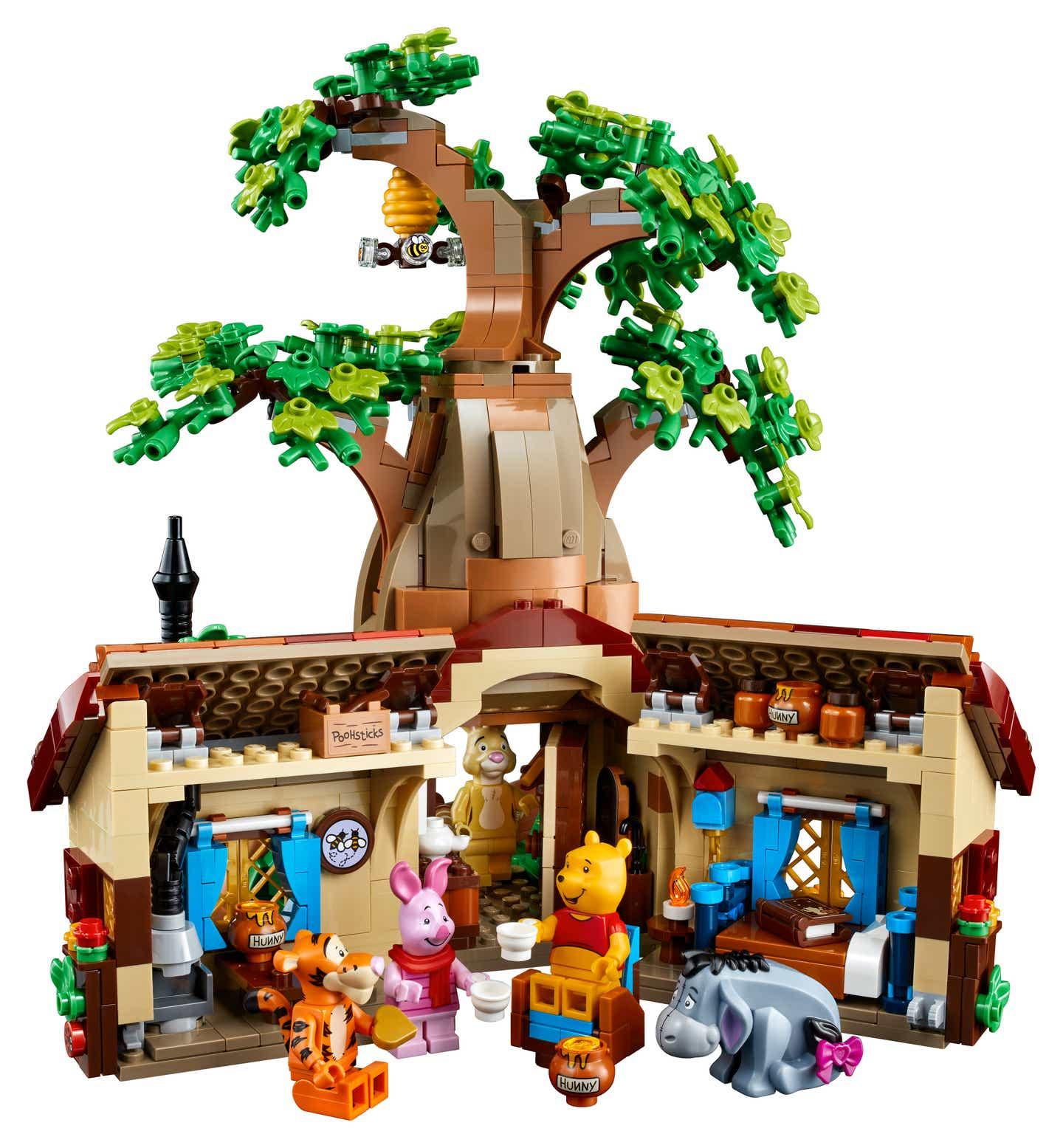 LEGO Ideas 21326 Winnie the Pooh Set