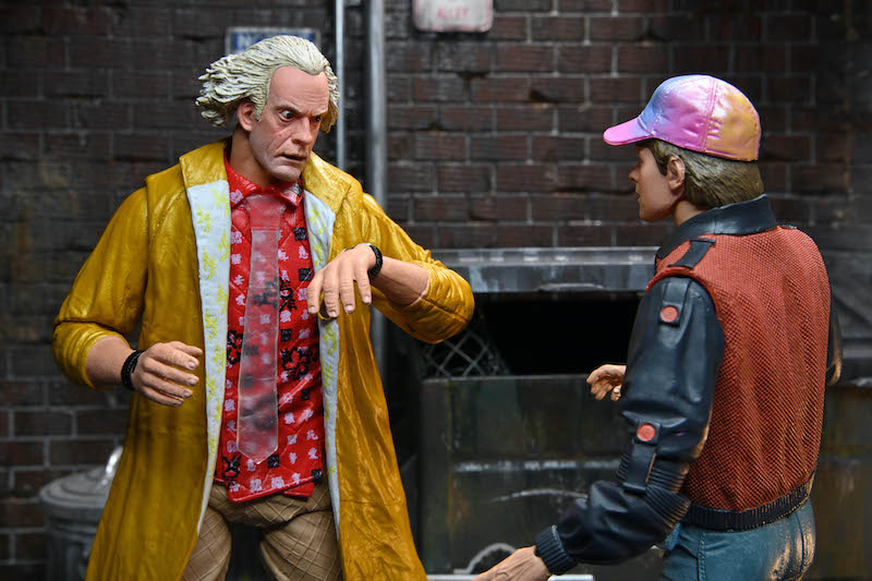 NECA Toys Previews Back to the Future 2 – Doc Brown 2015 Version Figure