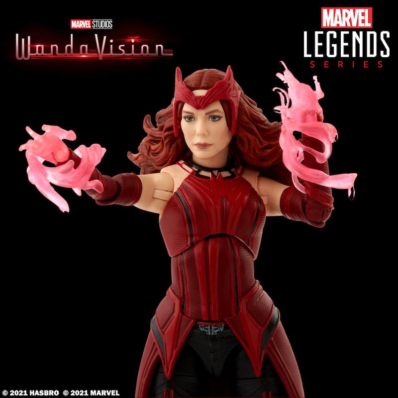 Hasbro Marvel Legends – WandaVision Scarlet Witch & Vision Figures