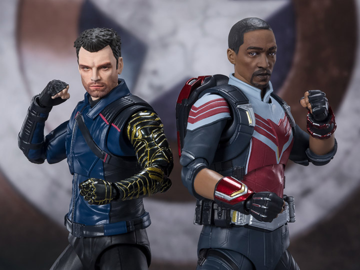 Tamashii Nations S.H. Figuarts – Falcon and the Winter Soldier Figure Pre-Orders