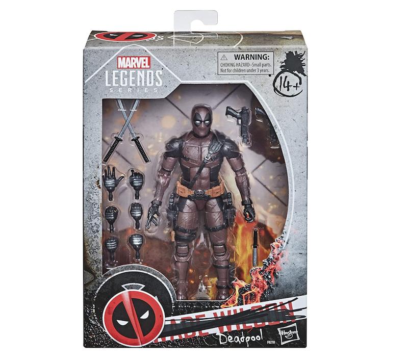 Hasbro Marvel Legends Deadpool 2 Movie Figure In-Stock On Amazon March 15th
