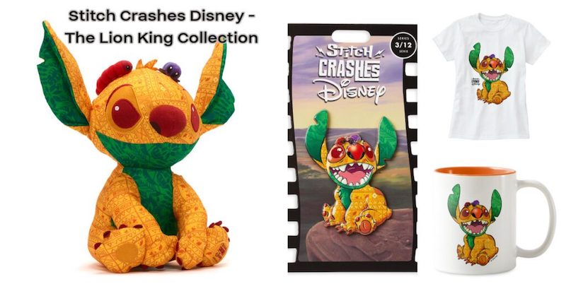 Disney Store Exclusive – Stitch Crashes Disney's The Lion King, In Series Three