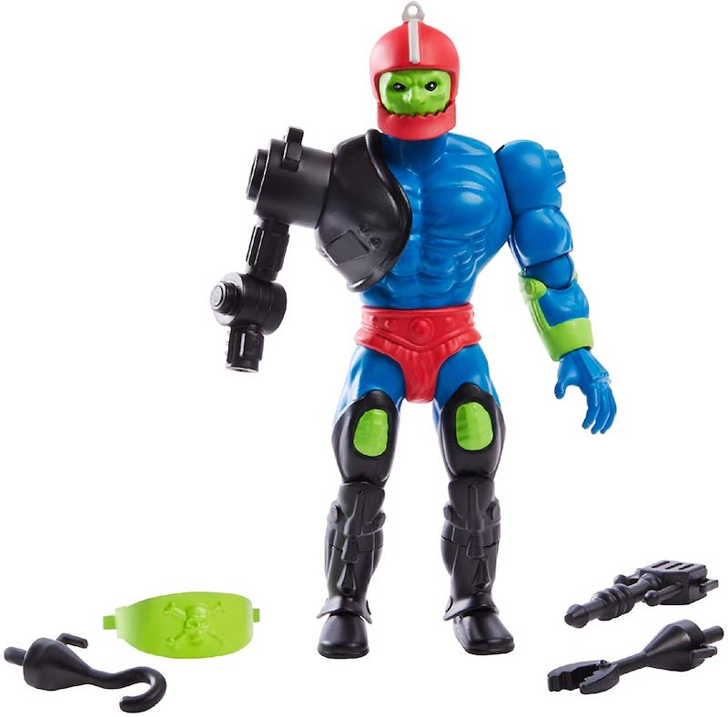 Mattel – Masters Of The Universe Origins Trap Jaw Figure $15.99/Scareglow $14.99 On Amazon