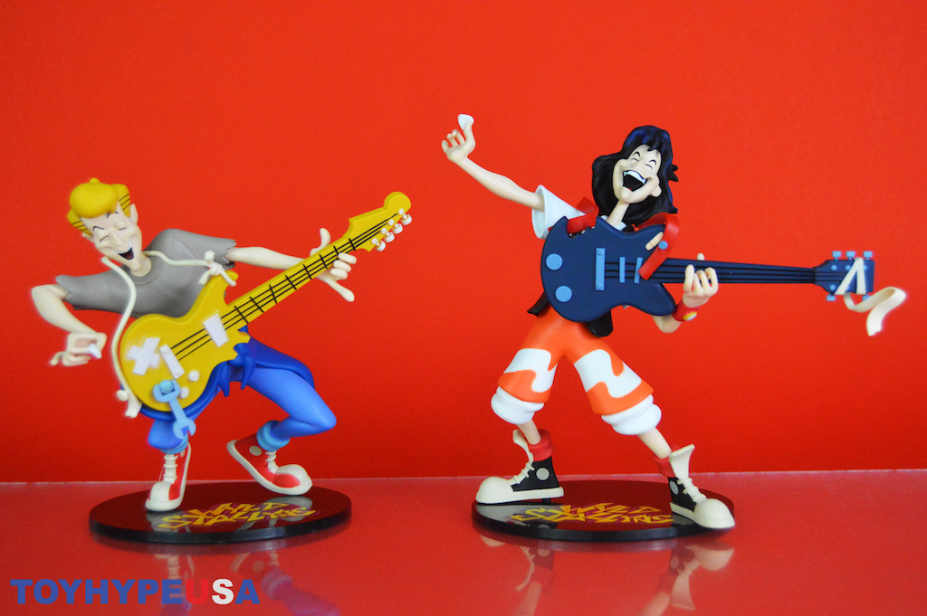 NECA Toys Toony Classics Bill and Ted's Excellent Adventure Figures Review