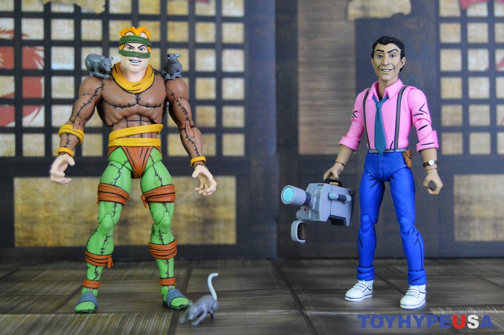 NECA Toys Teenage Mutant Ninja Turtles Rat King & Vernon 2 Pack Figures Review