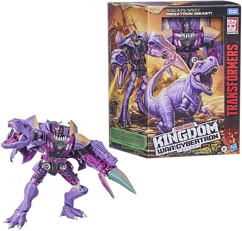 Hasbro Transformers War for Cybertron: Kingdom Leader Megatron Figure Pre-Orders On Amazon