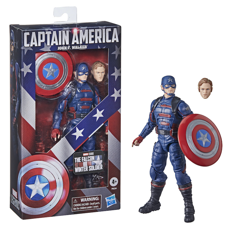 Hasbro Marvel Legends The Falcon and the Winter Soldier – John F. Walker Figure Available Now
