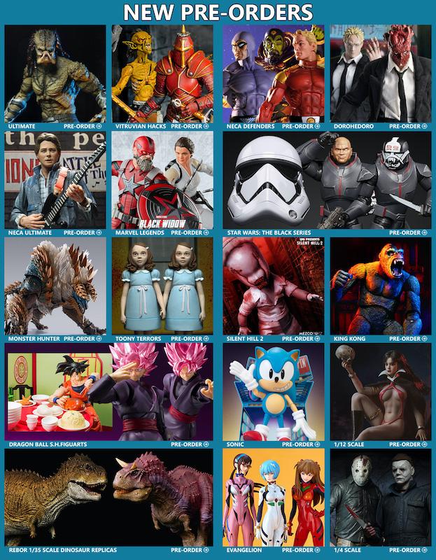 BigBadToyStore News –  Defenders of the Earth, Predator, Vitruvian H.A.C.K.S., Marvel Legends, Dragon Ball, BTTF, Monster Hunter, Dorohedoro & More