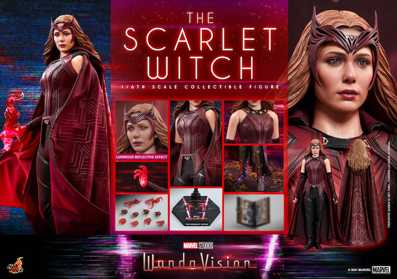 Hot Toys WandaVision – The Scarlet Witch & Vision Sixth Scale Figure Pre-Orders