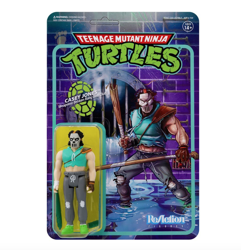 Super7 Teenage Mutant Ninja Turtles ReAction Wave 3 Figures Available Now