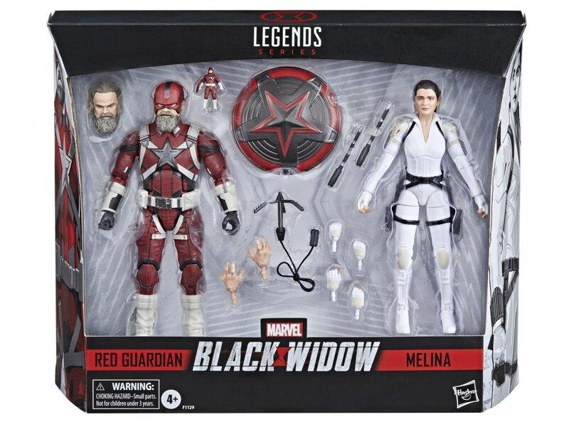 Hasbro Marvel Legends Red Guardian & Melina Vostkoff Figure 2-Pack Pre-Orders
