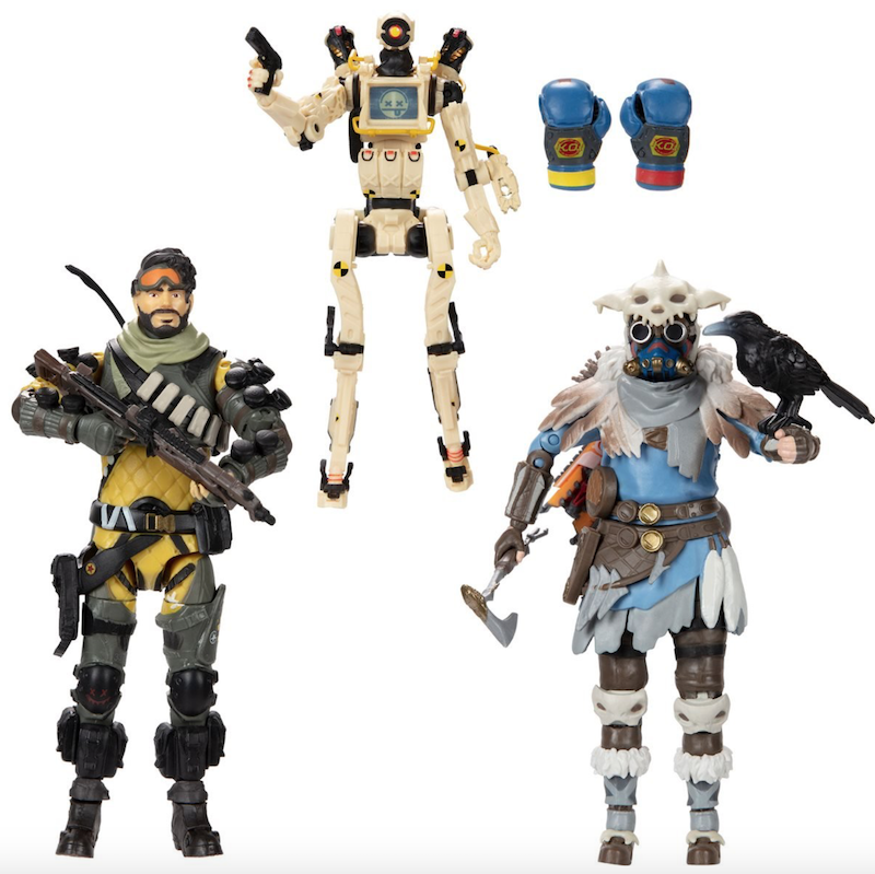 Jakks Pacific Apex Legends Series 3 Figure Pre-Orders