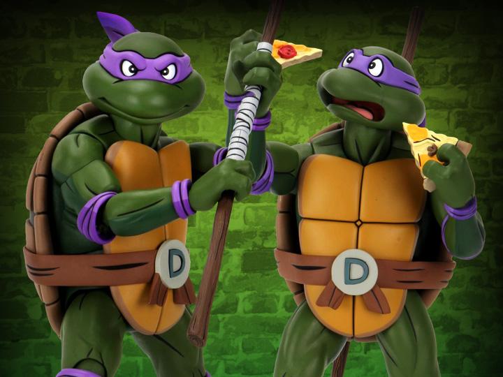 NECA Toys Shipping This Week – Teenage Mutant Ninja Turtles Classic Cartoon 1/4″ Donatello Figure