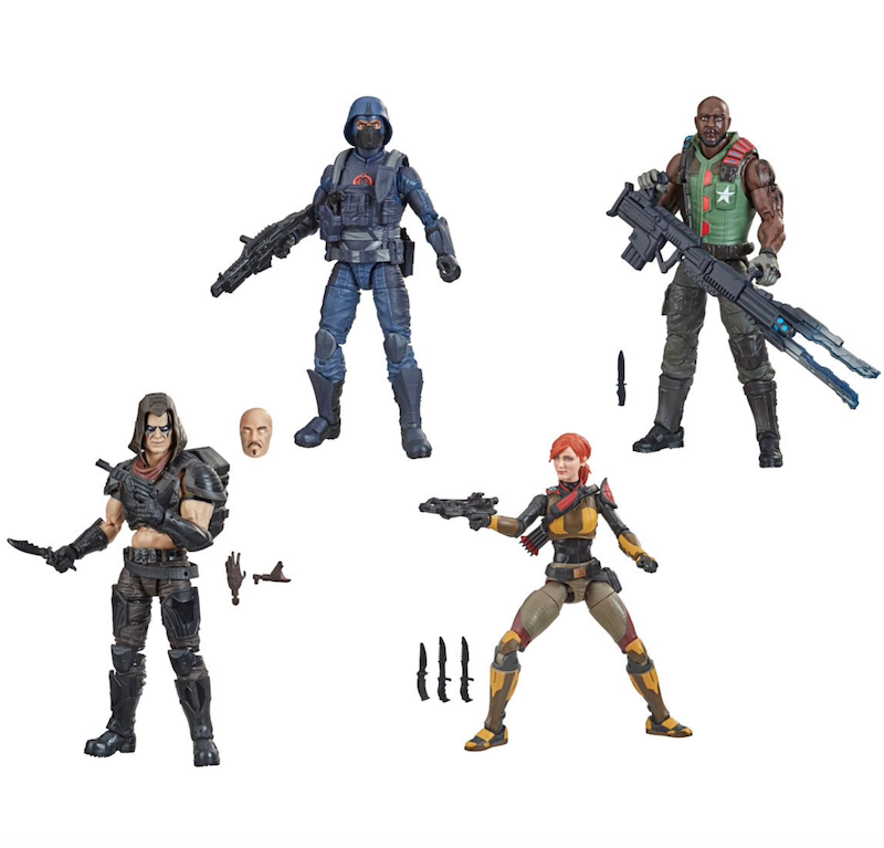 Entertainment Earth – G.I. Joe Classified Series Wave 4 Revision 1 Figure Pre-Orders