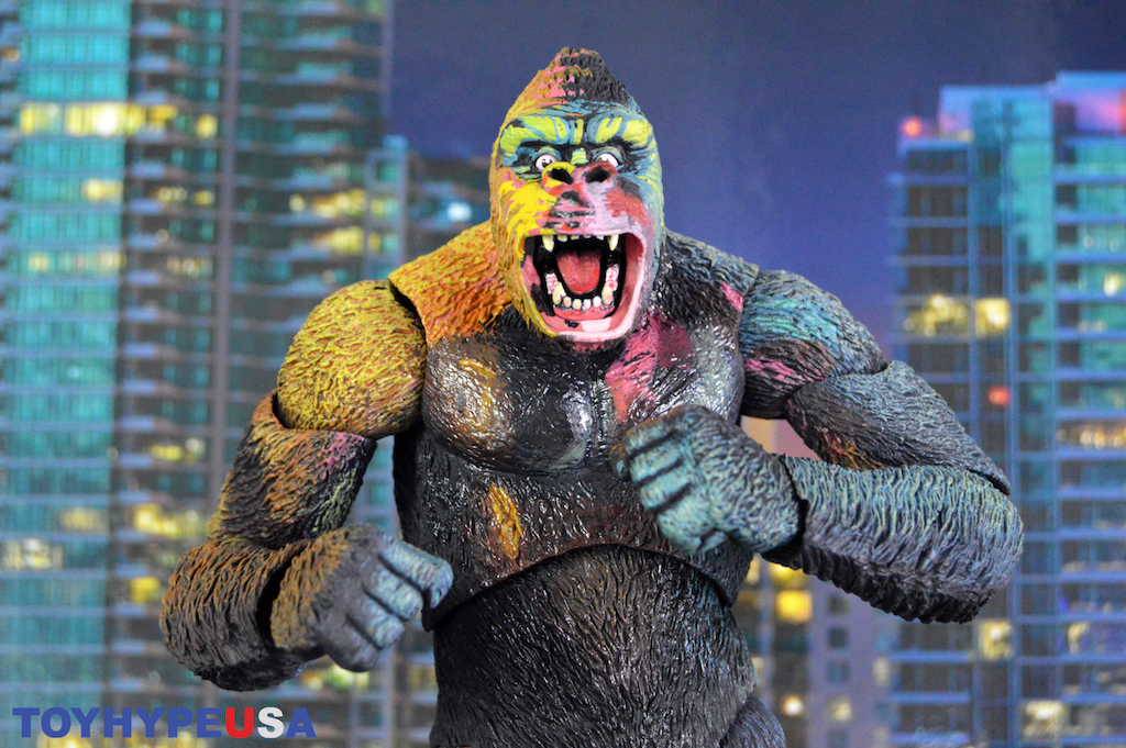 "NECA Toys King Kong ""Illustrated"" Deluxe Figure Review"