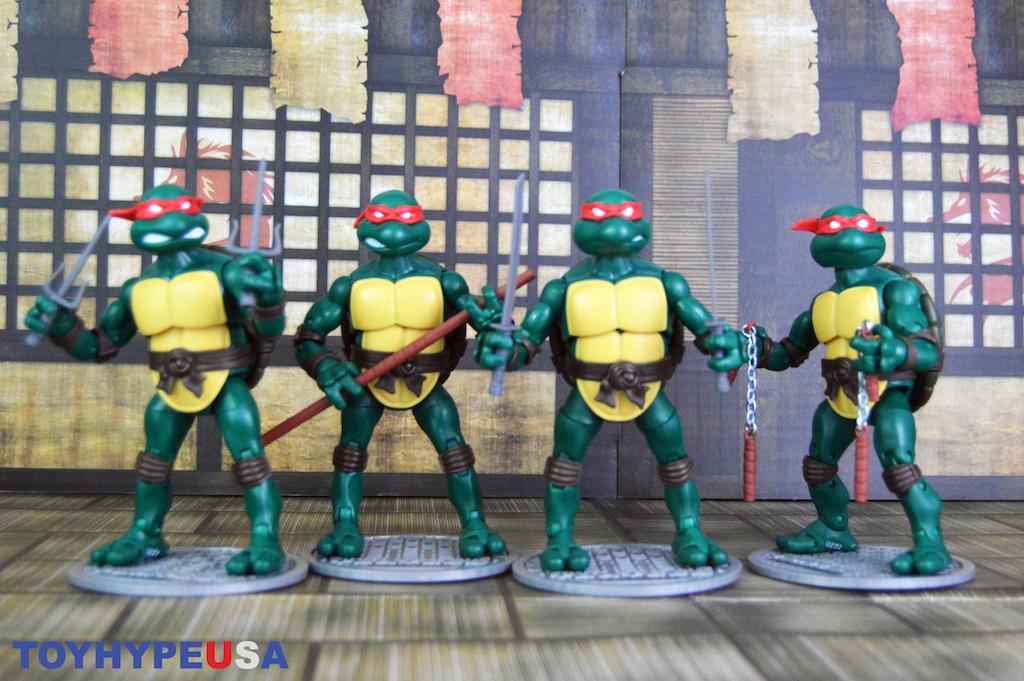 Playmates Toys Teenage Mutant Ninja Turtles Ninja Elite Series Figures Video Review