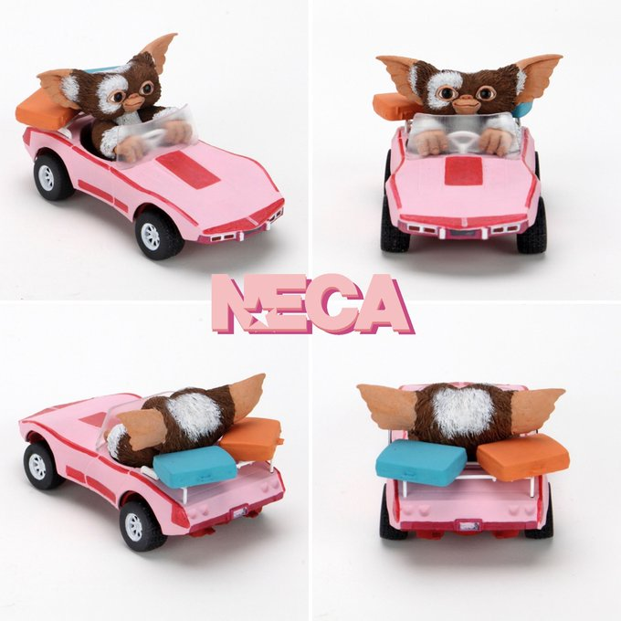 NECA Toys Previews Gremlin Accessory Pack, Back To The Future & Alien