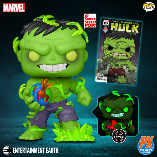 Entertainment Earth – Funko Marvel Super Heroes Immortal Hulk 6″ Pop Vinyl Figures, The Mandalorian Grogu Figure Pre-Orders