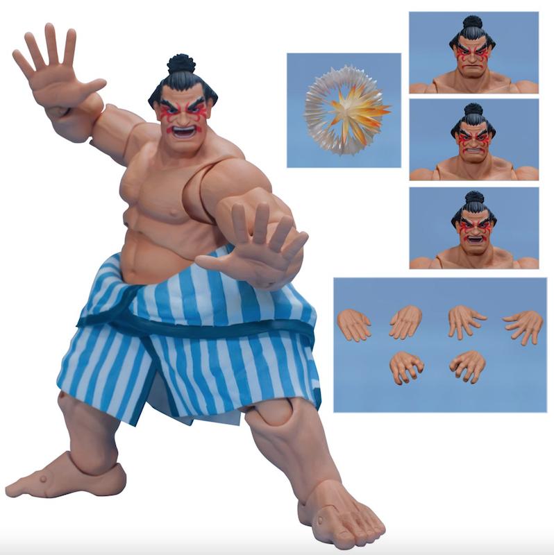 Storm Collectibles Street Fighter V E. Honda Nostalgia Costume 1:12 Scale Figure Pre-Orders