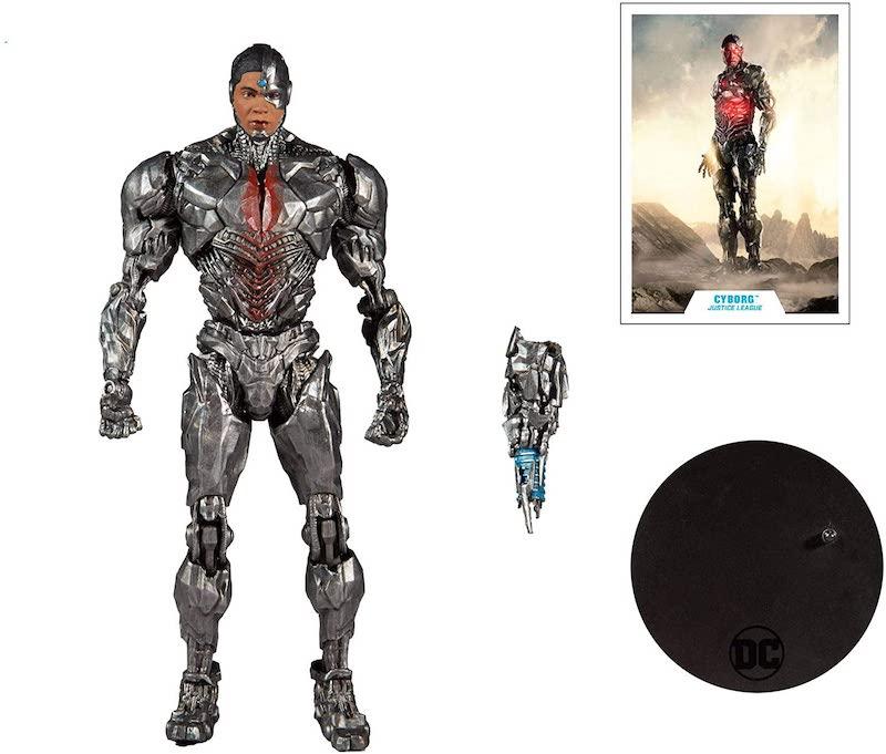McFarlane Toys – DC Multiverse Justice League Movie Cyborg & Batman Figure Pre-Orders At Amazon Canada