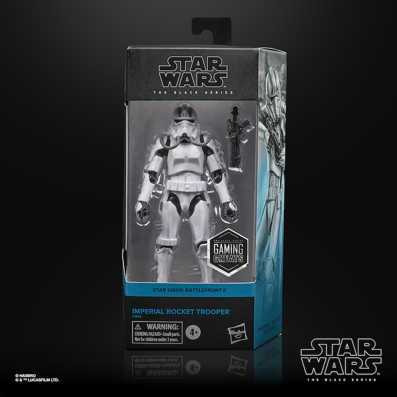 Hasbro Star Wars The Black Series Gaming Greats Imperial Rocket Trooper Figure