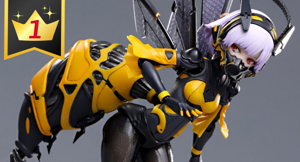 Hobby Link Japan – This Week's Top 15: Wasp Girl, Evangelion, & Much More